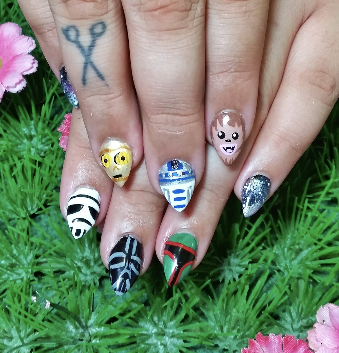 Kawaii Klaws Star Wars Nail Art - Netherworld
